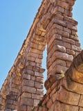 Detalhe, Roman Aqueduct antigo, Segovia, Csstile e LeonSpain imagens de stock royalty free