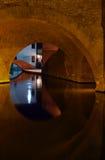 Detalhe sob um bridghe em Comacchio Imagens de Stock Royalty Free