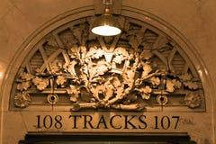 Detalhe terminal de Grand Central, New York, EUA Imagem de Stock Royalty Free