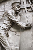 Detalhe titânico do memorial dos coordenadores Fotos de Stock