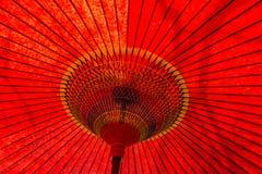 Detalhe tradicional japonês do guarda-chuva Imagem de Stock