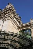 Detalhe velho da estação de Brotteaux Imagem de Stock Royalty Free
