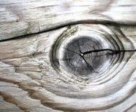 Detalhe velho da madeira da grão Foto de Stock Royalty Free