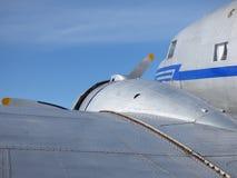 Detalhe velho do avião Imagens de Stock