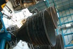 Detalhe velho do foguete imagens de stock