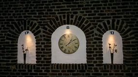Detalhe velho do pulso de disparo da horas da hora Tempo é dinheiro Fotos de Stock Royalty Free