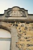 Detalhe velho histórico da escola dos meninos, Fremantle, Austrália Ocidental Imagem de Stock