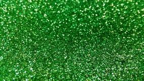 Detalhe verde da textura do brilho fotografia de stock