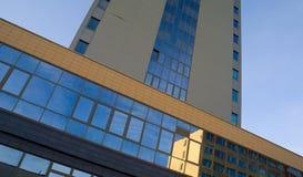 Detalhes abstratos da arquitetura Fotografia de Stock