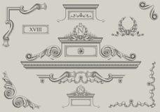 Detalhes arquitectónicos Fotografia de Stock Royalty Free