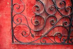 Detalhes arquitectónicos coloridos, Arequipa Peru. Foto de Stock Royalty Free