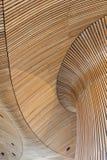 Detalhes arquitectónicos de edifício do conjunto de Galês Pranchas de madeira foto de stock royalty free