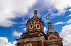 Detalhes arquitectónicos de igreja ortodoxa do russo Fotografia de Stock