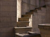 Detalhes arquitectónicos no palácio das belas artes Foto de Stock Royalty Free