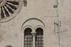 Detalhes arquitetónicos, barrocos Foto de Stock