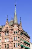 Detalhes arquitetónicos de construções em Oslo Foto de Stock Royalty Free
