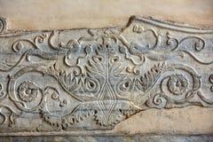 Detalhes arquitetónicos de di Santa Maria da basílica em Trastevere em Roma, Fotografia de Stock Royalty Free