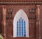 Detalhes arquitetónicos de igreja do ` s de St Anne imagens de stock royalty free