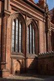 Detalhes arquitetónicos de igreja do ` s de St Anne imagem de stock royalty free