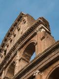 Detalhes arquitetónicos do coliseu em Roma Imagens de Stock Royalty Free