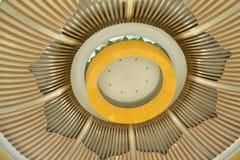 Detalhes arquitetónicos do museu Foto de Stock Royalty Free