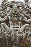 Detalhes arquitetónicos do palácio de Pena em Sintra, Portugal Fotos de Stock