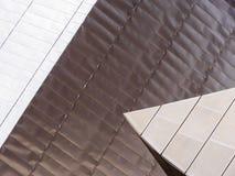 Detalhes arquitetónicos em cais de Salford, Inglaterra Imagens de Stock