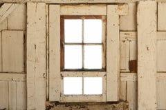 Detalhes arquitetónicos da janela Imagens de Stock