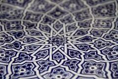Detalhes cerâmicos marroquinos Foto de Stock