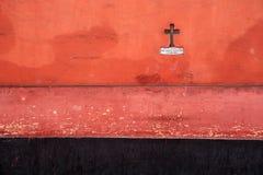 Detalhes coloridos da arquitetura, Cuzco, Peru. foto de stock