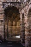 Detalhes da arena de Verona em Italia fotografia de stock royalty free