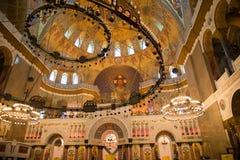 Detalhes da arquitetura da catedral Fotografia de Stock
