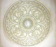 Detalhes da arquitetura: celings decorativos Fotografia de Stock Royalty Free