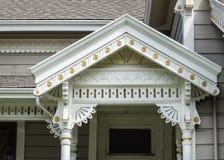 Detalhes da arquitetura vitoriano fotos de stock royalty free