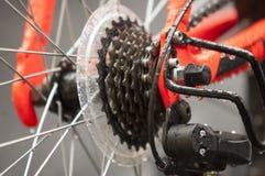 Detalhes da bicicleta imagem de stock