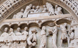 Detalhes da catedral Fotos de Stock