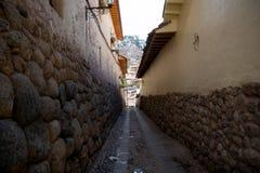 Detalhes da cidade de Peru de Cusco Foto de Stock