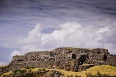 Detalhes da cidade de Peru de Cusco Fotografia de Stock