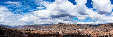 Detalhes da cidade de Peru de Cusco Imagens de Stock Royalty Free
