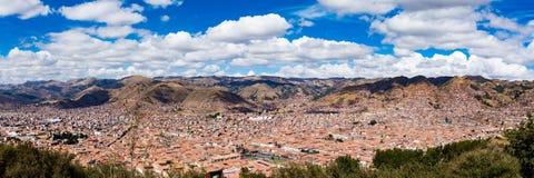 Detalhes da cidade de Peru de Cusco Imagem de Stock Royalty Free