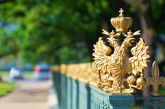 Detalhes da cidade do russo de St Petersburg Fotos de Stock Royalty Free