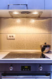 Detalhes da cozinha Foto de Stock