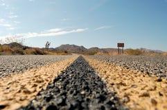 Detalhes da estrada Imagem de Stock