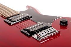 Detalhes da guitarra Imagens de Stock