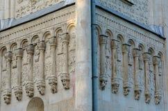 Detalhes da igreja em Vladimir imagem de stock royalty free