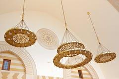 Detalhes da mesquita em Amman, Jordânia Fotos de Stock Royalty Free