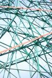 Detalhes da montanha russa Imagem de Stock