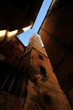 Detalhes da rua de Genoa Fotos de Stock