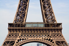 Detalhes da torre Eiffel Fotos de Stock Royalty Free