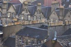 Detalhe das casas Imagem de Stock